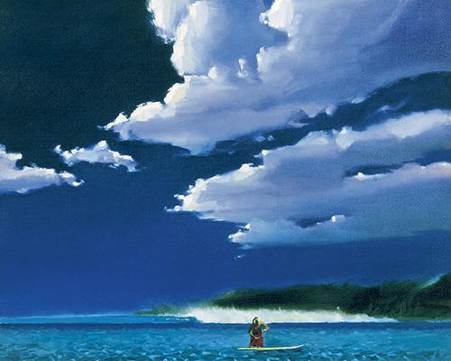 Morning Sun & Surf